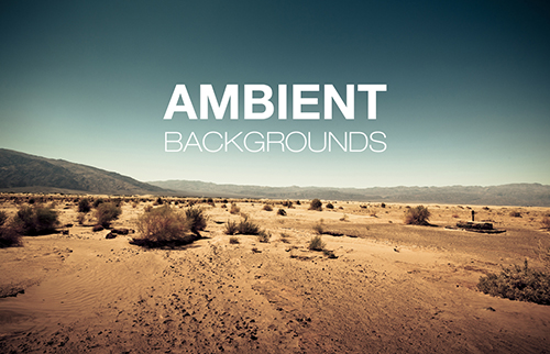 Ambient background sounds, noise sound effects, noisy ambiences for video games, films and movie trailers
