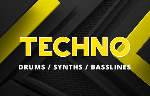 Downlaod the best techno sample packs, minimal, acid, deep, underground, industrial and dark techno loops, techno drums and one-shots, kicks and drum kits