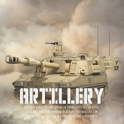Download Artillery - Designed Howitzer and Explosion Sound Effects Sample Library