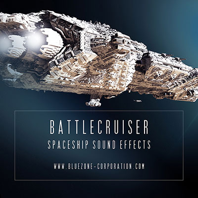 Donwload Battlecruiser - Spaceship Sound Effects Sample Library
