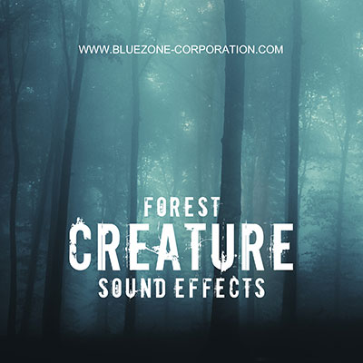 Forest Creature Sound Effects, Giant Footsteps, Breaking, Cracking, Hitting Wood Sounds