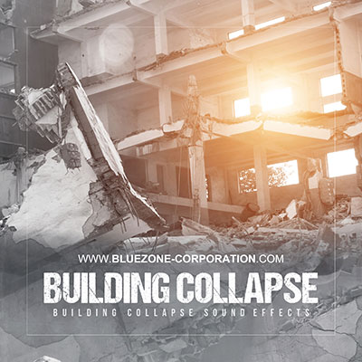Building Collapse Sound Effects: Explosions, earthquakes, volcano rumblings, crumbling buildings, warehouse explosions, brick wall collapses, crashes, rocks falling and bombing sounds