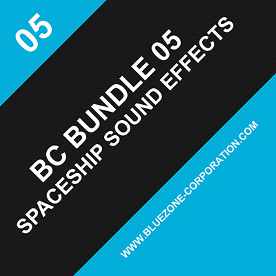 BC Bundle 05, Spaceship Sound Effects, Spacecraft, Engines, Starship, Alien Spaceship Takeoff and Landing Sounds