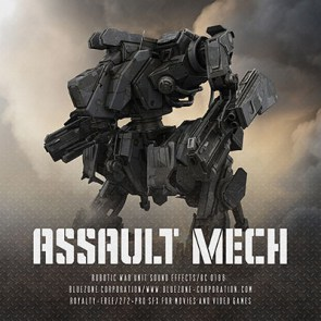 Download Assault Mech - Robotic War Unit Sound Effects Sample Library