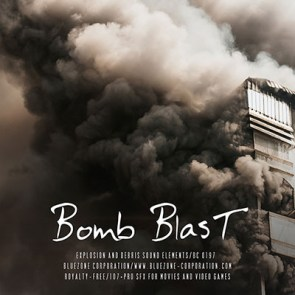 Download Bomb Blast - Explosions and Debris Sound Elements Sample Library