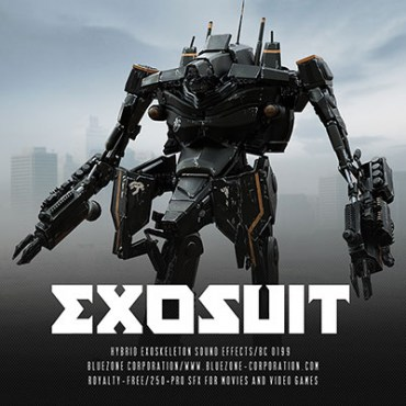 Download Exosuit - Hybrid Exoskeleton Sound Effects Sample Library