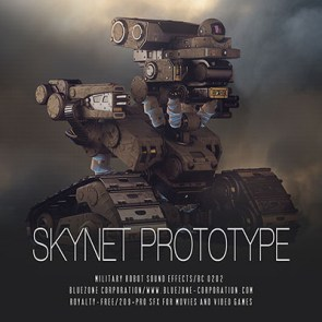 Download Skynet Prototype - Military Robot Sound Effects Sample Library