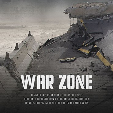 Download War Zone - Designed Explosion Sound Effects Sample Library