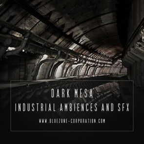 Download Dark Mesa - Industrial Ambiences and SFX sound library