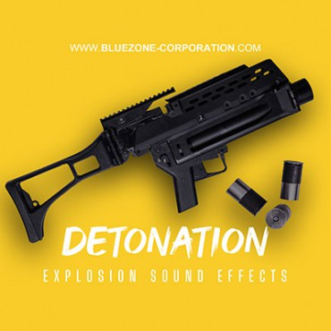 Detonation, explosion sound Effects, grenade launcher, explosive charge, mortar, bomb, dynamite, C4, cartridge case handling and more.