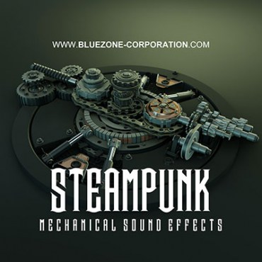 Steampunk Mechanical Sound Effects, Industrial Factory Sounds, Machines, Mechanisms, Steampunk Gear Clocks